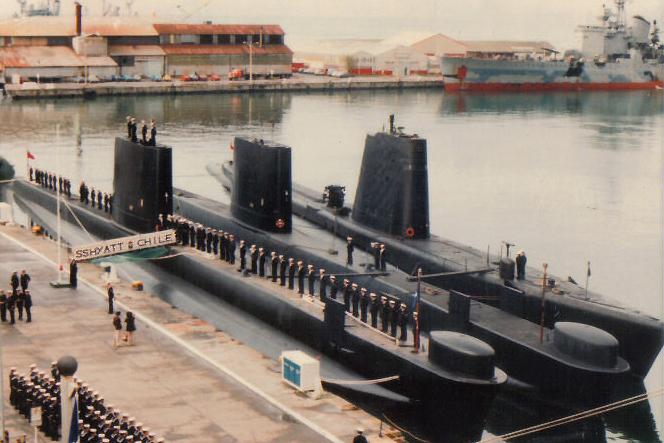 Conoce el SSK O´Brien S22, un submarino museo en Chile.